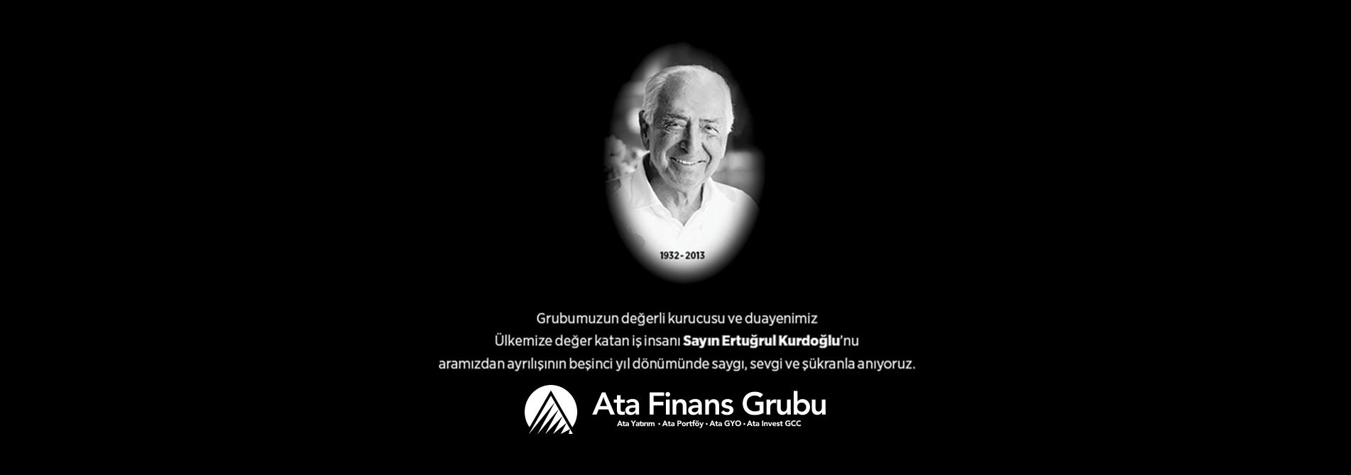 SN. Ertuğrul Kurdoğlu'nun vefatının 5. Yıldönümü